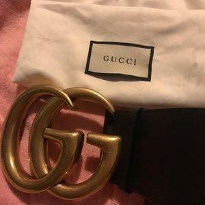 Gucci wide belt